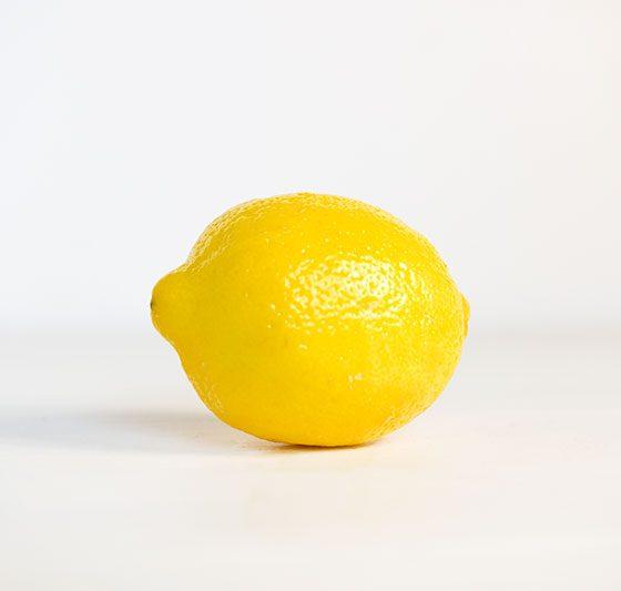 photo of a lemon