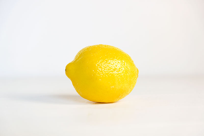 photo of a lemon